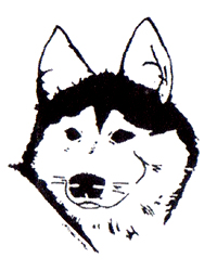 Annual Seguin Sled Dog Mail Run logo